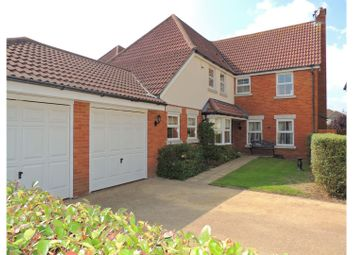 Thumbnail 4 bed detached house for sale in Golding Close, Rochester
