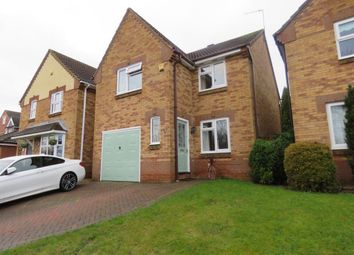 Thumbnail 3 bed detached house to rent in Sandringham Close, Wellingborough