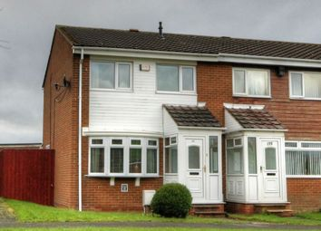 Thumbnail 3 bed semi-detached house for sale in Burnham Avenue, West Denton Park, Newcastle Upon Tyne