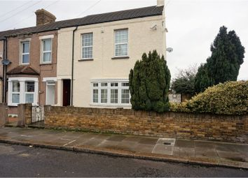 Thumbnail 4 bedroom end terrace house for sale in Hengist Road, Erith