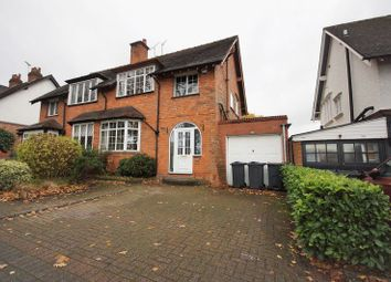 Thumbnail 3 bed semi-detached house for sale in Linden Road, Bournville, Birmingham