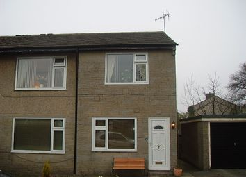 Thumbnail 2 bedroom maisonette to rent in Pasture Walk, Clayton, Bradford