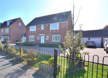 Thumbnail 4 bed detached house for sale in Barkston Heath, Kingsway, Quedgeley, Gloucester