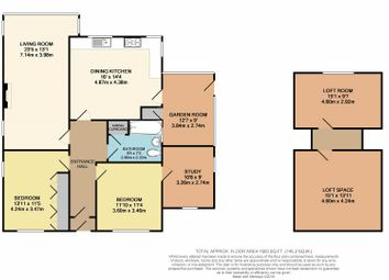 Thumbnail 2 bed detached bungalow for sale in Orchard Avenue, Leicester