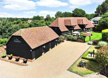 Thumbnail 5 bed barn conversion for sale in Place Lane, Hartlip, Sittingbourne, Kent