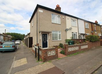 Thumbnail 2 bed end terrace house for sale in Stanwell New Road, Staines-Upon-Thames