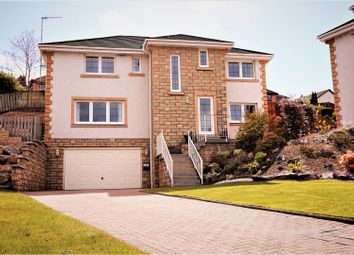 Thumbnail 4 bed detached house for sale in Station Road, Langbank
