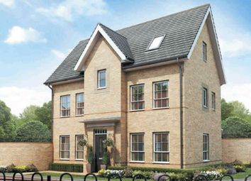 "Thumbnail 4 bed detached house for sale in ""Hexley"" at Riddy Walk, Kempston, Bedford"