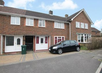 Thumbnail 3 bed terraced house for sale in Furzefield, Crawley, West Sussex.