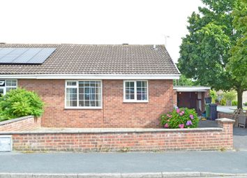Thumbnail 2 bedroom semi-detached bungalow to rent in The Croft, Strensall, York
