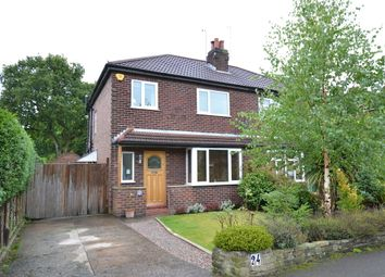 Thumbnail 3 bed semi-detached house to rent in Barlow Road, Wilmslow
