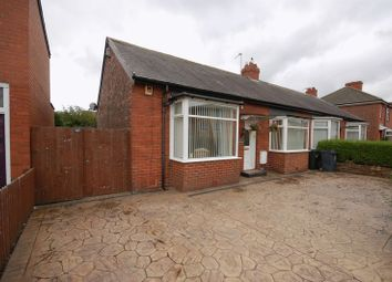 Thumbnail 2 bed semi-detached bungalow for sale in Great Lime Road, Forest Hall, Newcastle Upon Tyne