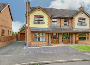 3 bed semi-detached house for sale in Judes Crescent, Newtownards BT23