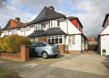 Thumbnail 3 bed semi-detached house for sale in Haileybury Avenue, Enfield