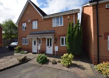 Thumbnail 2 bed semi-detached house to rent in Euston Drive, Derby