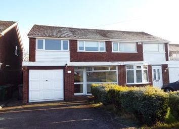 Thumbnail 3 bed property to rent in Nicholas Road, Sutton Coldfield