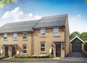 "Thumbnail 3 bed terraced house for sale in ""Hutchins"" at Aspen Gardens, Hook"