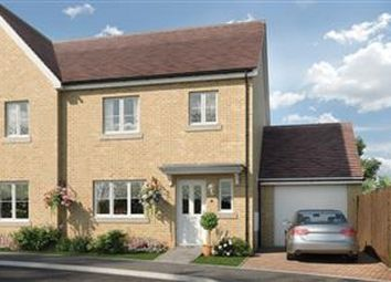 Thumbnail 3 bed semi-detached house for sale in Portland Way, Off Bramford Road, Great Blakenham, Suffolk