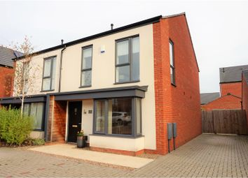 Thumbnail 3 bedroom semi-detached house for sale in Prince George Drive, Derby