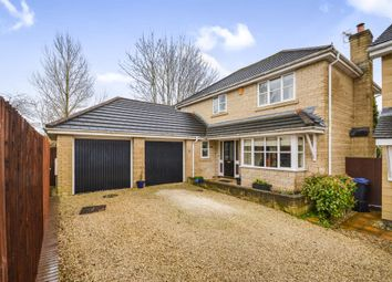 Thumbnail 4 bed detached house for sale in Meadowsweet Drive, Calne
