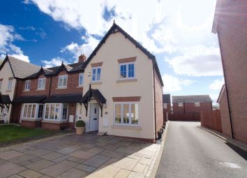 Thumbnail 3 bed end terrace house for sale in Hardwick Drive, Gwersyllt, Wrexham
