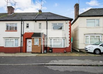 Thumbnail 3 bed end terrace house for sale in Kent Road, Luton