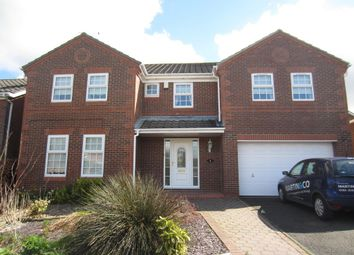 Thumbnail 5 bedroom detached house for sale in Aylsham Close, North Walbottle, Newcastle Upon Tyne