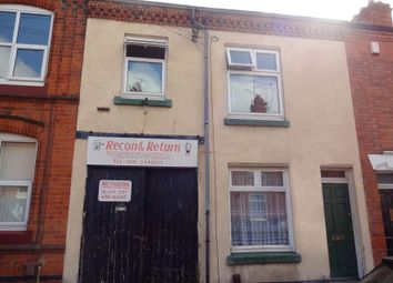 Thumbnail 4 bed terraced house for sale in Avenue Road Extension, Clarendon Park, Leicester