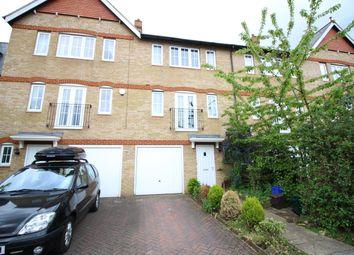 Thumbnail 4 bedroom terraced house to rent in Montogomery Gardens, South Sutton, Surrey