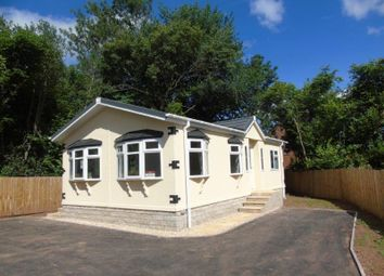 Thumbnail 2 bed mobile/park home for sale in Lea Villa Park, Lea, Ross-On-Wye