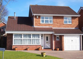 Thumbnail 3 bed detached house for sale in Preston Avenue, New Hall, Sutton Coldfield