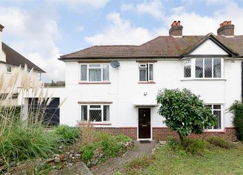 Thumbnail 4 bed semi-detached house for sale in Woodside Road, Purley, Surrey