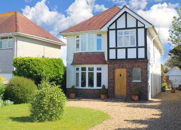 Thumbnail 4 bed detached house for sale in Southgate Road, Southgate, Swansea
