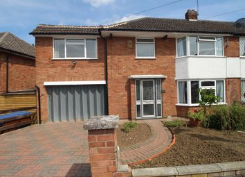 Thumbnail 4 bed semi-detached house for sale in Highcroft Avenue, Oadby, Leicester