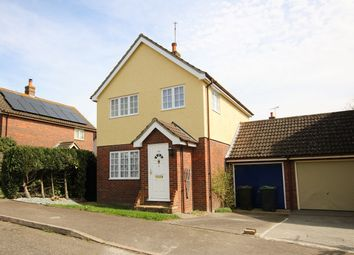 Thumbnail 3 bedroom detached house for sale in Godfrey Way, Dunmow