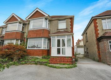 Thumbnail 4 bedroom semi-detached house for sale in Downsway, Southwick, Brighton