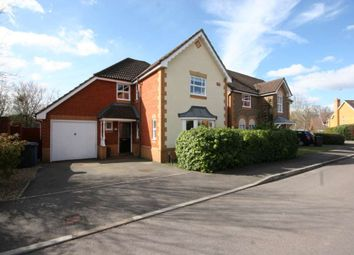 Thumbnail 4 bed detached house to rent in Levignen Close, Church Crookham, Fleet