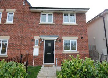 Thumbnail 3 bed semi-detached house to rent in Klondyke Walk, Blaydon-On-Tyne