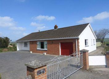 Thumbnail 3 bed detached bungalow for sale in Penparc, Cardigan