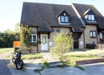 Thumbnail 1 bed semi-detached house for sale in Mountbatten Way, Chelmsford