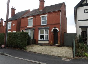 Thumbnail 2 bed semi-detached house for sale in Avenue Road, Ashby-De-La-Zouch