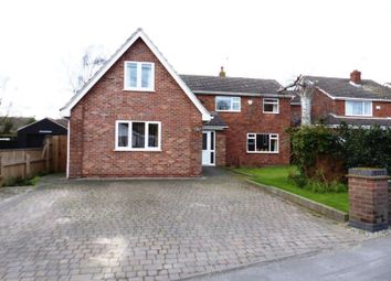 Thumbnail 5 bed detached house for sale in Church Road, Saxilby, Lincoln