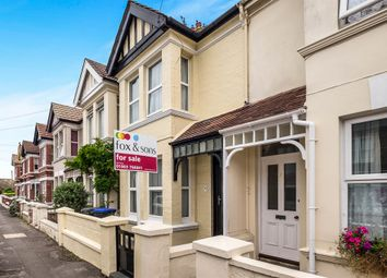 Thumbnail 3 bed terraced house for sale in Cecil Road, Lancing