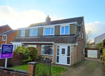Thumbnail 3 bed semi-detached house for sale in Windmill Crescent, Halifax