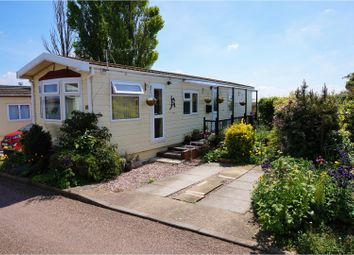 Thumbnail 2 bed mobile/park home for sale in Cheveley Park, Grantham
