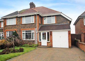 Thumbnail 4 bed semi-detached house for sale in St. Floras Road, Littlehampton