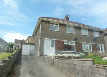 Thumbnail 3 bed semi-detached house for sale in Coronation Road, Llangynwyd, Maesteg, Mid Glamorgan