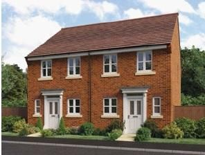 Thumbnail 2 bed semi-detached house for sale in Bidavon Industrial Estate, Waterloo Road, Bidford-On-Avon, Alcester