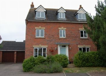 Thumbnail 5 bedroom detached house for sale in Lattimore Close, West Haddon, Northampton