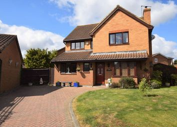 Thumbnail 4 bed detached house for sale in Bryant Way, Toddington, Dunstable
